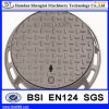En124 Cast Iron Ductile B125 Manhole Cover