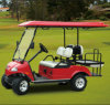Hdk Golf Club Car Red Utility Vehicle (DEL3022G2Z, 2+2-Seater)