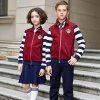Wholesale School Uniform Girls Tracksuits Sport Suits