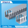 Plastic PVC Channel Slotted Track, Cable Tray, Wiring Duct