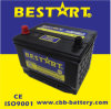 12V60ah Premium Quality Bestart Mf Vehicle Battery Bci 58500-Mf