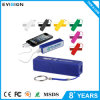Mini RoHS Power Bank 2600mAh for  Outdoor