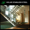 Stainless Steel Railing Systems Tempered Glass Balustrade for House Designs