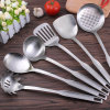 2017 New 6-PCS Slotted Turner Spoon Stainless Steel Kitchen Tool Set
