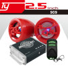 Waterproof Motorcycle Audio with SD USB FM Alarm