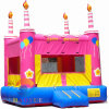 Birthday Cake Inflatable Bouncer Jumping Castle for Party