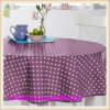 Home Textile PVC Tablecloth / Oilcloth in Roll Factory