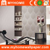 New Space PVC Wall Paper with Flower Embossing