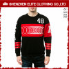 Wholesale Crewneck Couple Lover Black Sweatshirt Men Cotton (ELTSTJ-76)