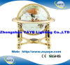 Yaye 18 Golden Color Stand 330mm/220mm/150mm White Color Gemstone Globe/ World Globe