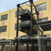 Hydraulic Cylinder Lifting Carmaker Four Post Three Level Car Parking Lift