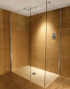 Bathroom 8mm Tempered Glass Wetroom Shower Wall (BNWRT10)