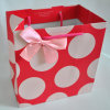 Printed Kraft Gift Paper Bag with Paper Handles