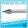 DIN8032 Carbide Burrs with Taper or Cone Flat End