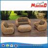 Leisure Modern Restaurant Terrace Garden Living Room Resort Fabric Sofa Furniture Woven Sofa Set