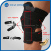 Breathble Hinged Open Patella Protector Wrap Knee Support Brace