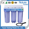 Triple Stage Household Water Filter with Stronger Clear Housing