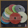 "4"" (100mm) Diamond Wet and Dry Hook & Loop Polishing Pads (SY-DP-3006)"