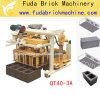 Qt40-3A Move Block Making Machine Mini Brick Factory for Small Business Hot Sale