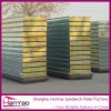 Corrugated Insulated Fireproof Rock Wool Sandwich Wall Panels