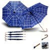 Wind Resistance 190t Polyester Auto Open Classic Straight Umbrella