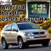 Android GPS Navigation Box for Lexus Rx400h Rx330 Rx350 2005-2009, Android Navigation Rear and 360 Panorama Optional