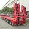 60t 3 Axle Hydraulic Gooseneck Flatbed Lowboy Lowbed Seimi Trailer