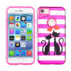 Hot Sale Pink PC Painting 2 in 1 Hybrid Case for iPhone7 7plus