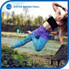 Lady Beautiful Yoga Leggings Mermaid Gradient Bright Color Sports Pants