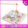 Top Fashion Childhood Play Toy Wooden Kids Fishing Game W01A191