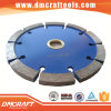 Diamond Tuck Point Circular Saw Blade with Flat Segment
