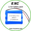 3.7V 6600mAh 18650 Battery Pack, Lithium Ion Battery