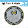 Soft Enamel Coins in Antique Silver Plating, Metal Coin