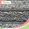 Gray Geometric Lace Accessories Nylon Knit or Woven Lace Fabric