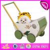 New Arrival Unique Wooden Activity Baby Walker, 1-2-3 Grow with Me Wooden Baby Walker W16e044