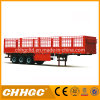 Bulk Cargo Transportation 3 Axles Side Panels Fence Truck Trailer