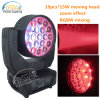 19PCS*15W RGBW LED Aura Light Zoom Wash Moving Head