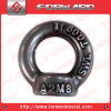 Ss304 Stainless Steel Drop Forged Lifting Eye Nut Lifting Arrow DIN582 Eye Nut