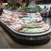 Excel Wide Island Produce Merchandiser Refrigerator for Bulk Produce Applications