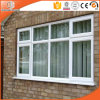 Caribbean Design Aluminum Casement/Awning Window, Double Glazing Tempered Glass Casement Window