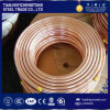 Pancake Coil Copper Tube / Red Copper Pipe / Copper Tubing C1100 Price Per Kg