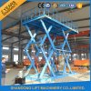 Indoor Scissor Lift Platform for Cargo Lifting Machine