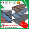 Guang Zhou Manufacturer Natural Sand Stone Coated Metal Roof Tile
