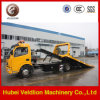 Dongfeng 4*2 3tons One Carry Two Flatbed Road Wrecker Truck for Sale