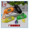 Colorful advertising Low Price Promotional Wholesale Plastic Keychains Watch