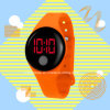 Promotional Gift Adjustable LED Digital Silicone Watch
