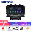 Witson Quad-Core Android 10 Car DVD GPS for Opel Astra J / Opel Cascada / Buick Excelle Xt / Vauxhall Astra 2010-2013 Built-in OBD Function Vehicle Radio