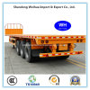 3 Axles Flatbed Container Trailer of Semi Trailer