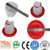 Plastic Chicken Drinker and Feeder From Poul-Tech
