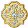 Artistic Ceiling Wall Panel for Luxurious Decoration (PUDP24-50-SZ)